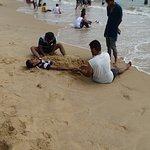 Tourists at Baga Beach