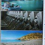 Le flyer de Markidis travel - Agia Galini - Matala - Spili