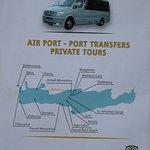 Le flyer de Markidis travel