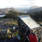 On the way to Killarney.  Lady's  View
