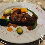 BEEF FILET WITH PARMESAN CHEESE AND MARSALA WINE SAUCE