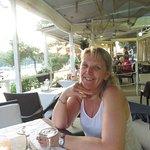 The restaurant terrace at Ciparis