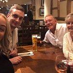 Nan, grandad, grandson and his lovely partner