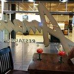 Table view - the reception of Break Sokos Hotel Flamingo