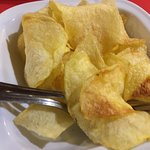 Batatas Fritas, caseiras, às rodelas