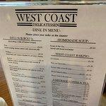 West Coast Delicatessen Foto