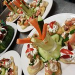 Canapes for parties