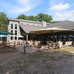 Anchor Bay Bar & Grill - Outside dining area