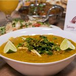 Haleem was spicy and well-grind.