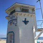 Lifeguard station at Main Beach in Laguna Beach, CA