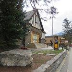 It enhances the beauty of Banff Avenue