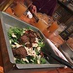 Caesar Salad with Steak Tips