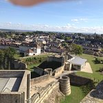 View from the battlements.
