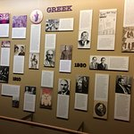 The Greek display.