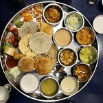 you can taste almost entire Gujarati food here
