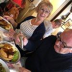 Mum an Dad were very happy!