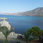 View from the verandah of the Kanalli Restaurant