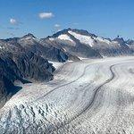 view of glacier