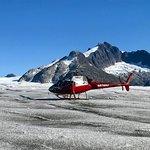 landed on Mendenhall Glacier