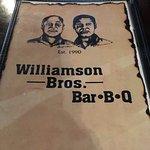 Foto de Williamson Brothers Bar-B-Q - Canton