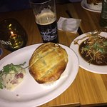 Scottish Steak Pie with a side of Outstanding Haggis!