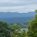 Catskills from Olana House