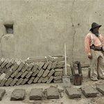 Mexican adobe maker.