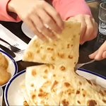 Fresh pita breads are soft, flaky and huge!