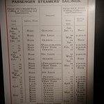 Titanic schedule