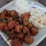 Teri-Fried Chicken Bites Plate