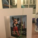 Nice Greeting Card and Balloon from Mickey