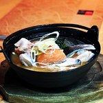 Salmon Head Miso Soup