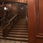 Recreation of the grand staircase.