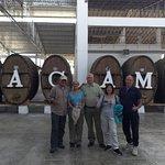 visiting Tacama Vineyard sampling tour