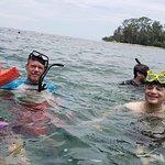 un poco de snorkeling day