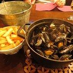 My bucket of mussels!