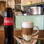 Coke and a latte