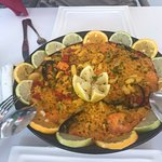 Best paella and Sangria ! Thank you Rosie and Ibrahim!, the best waitress! I will always keep co