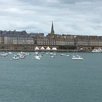 First view of France (St Malo)