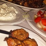 Greek traditional tavern SKAROS