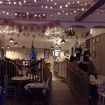 It's a Christmas time view of Granny's. Any time of the year it is a relaxing place to meet and