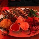 Chicken & Lamb Kebab