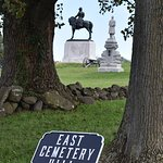 Cemetary Hill and Gen. Oliver Howard statue