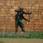 Statue of the famed Robin Hood