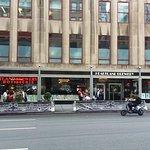 The restaurant outside