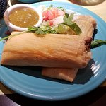 tamales, Pappasito's Cantina, DFW, Dallas, TX, Sep 2018