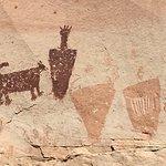 Rock art, Horseshoe Canyon Utah.
