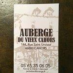 Foto de L'auberge du vieux Cahors