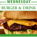 Join us every Wednesday to enjoy a Burger & Drink* for just £9! *T's and C's apply