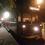 Colonial Tramcar Restaurant during break at Albert Park
